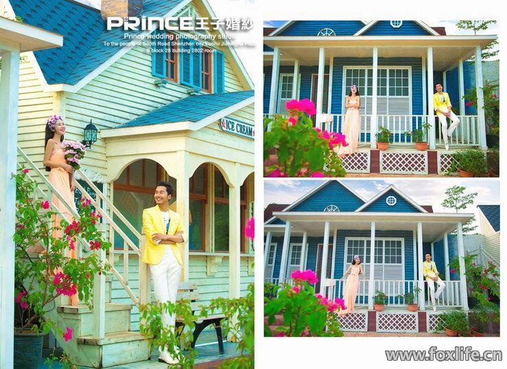深圳玫瑰海岸不一样的拍摄角度 深圳王子婚纱摄影