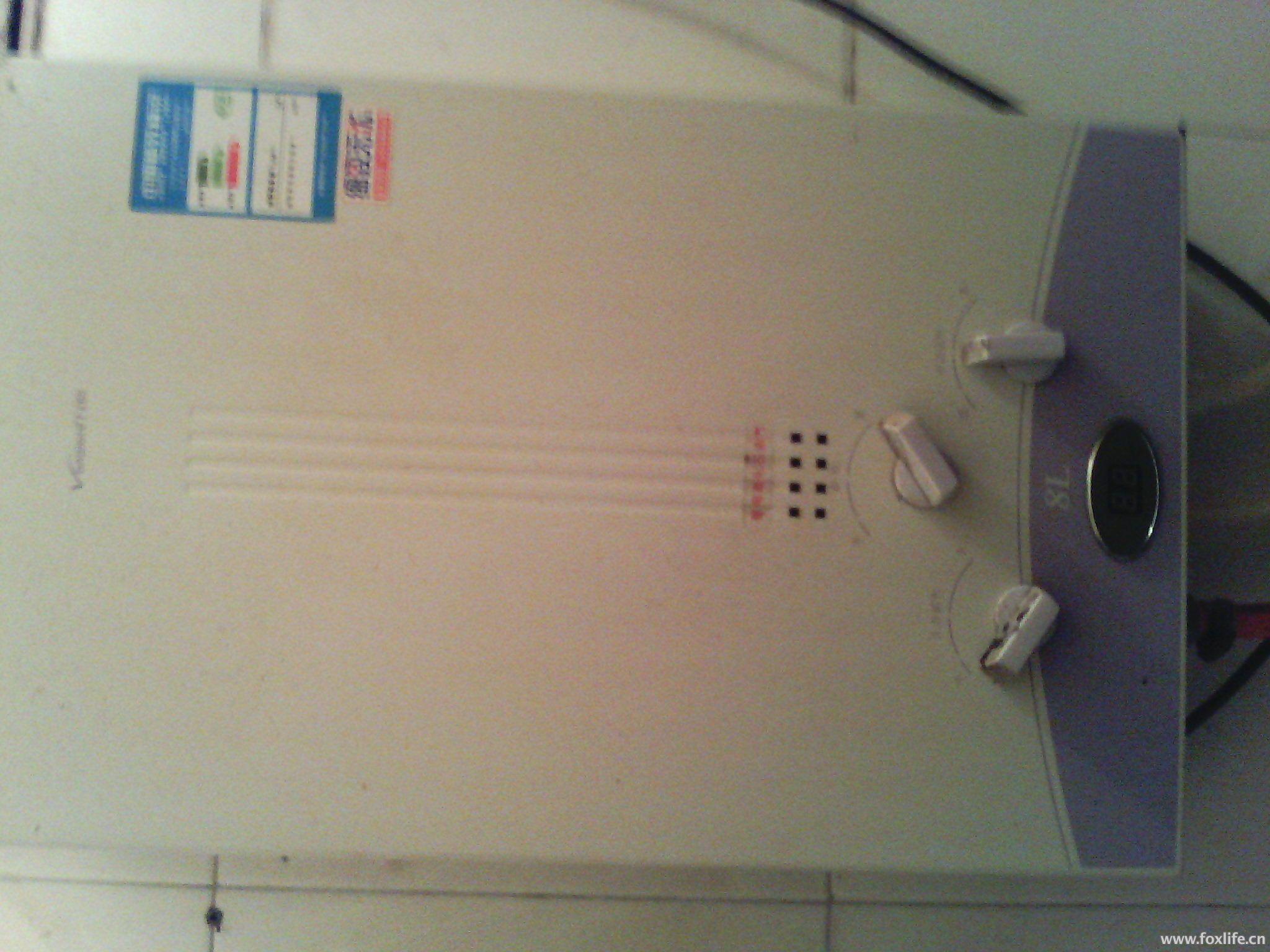 万和热水器(有液晶温度显示屏)