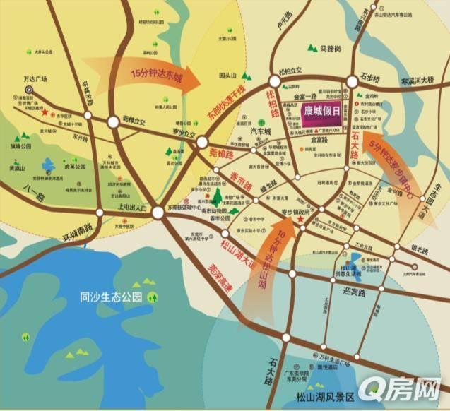 东莞香市动物园地图